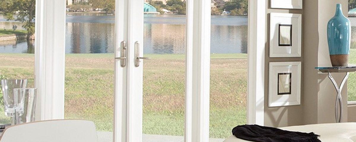 Vinyl French Doors - PGT WinGuard French Door - Glass French Doors - PGT Doors