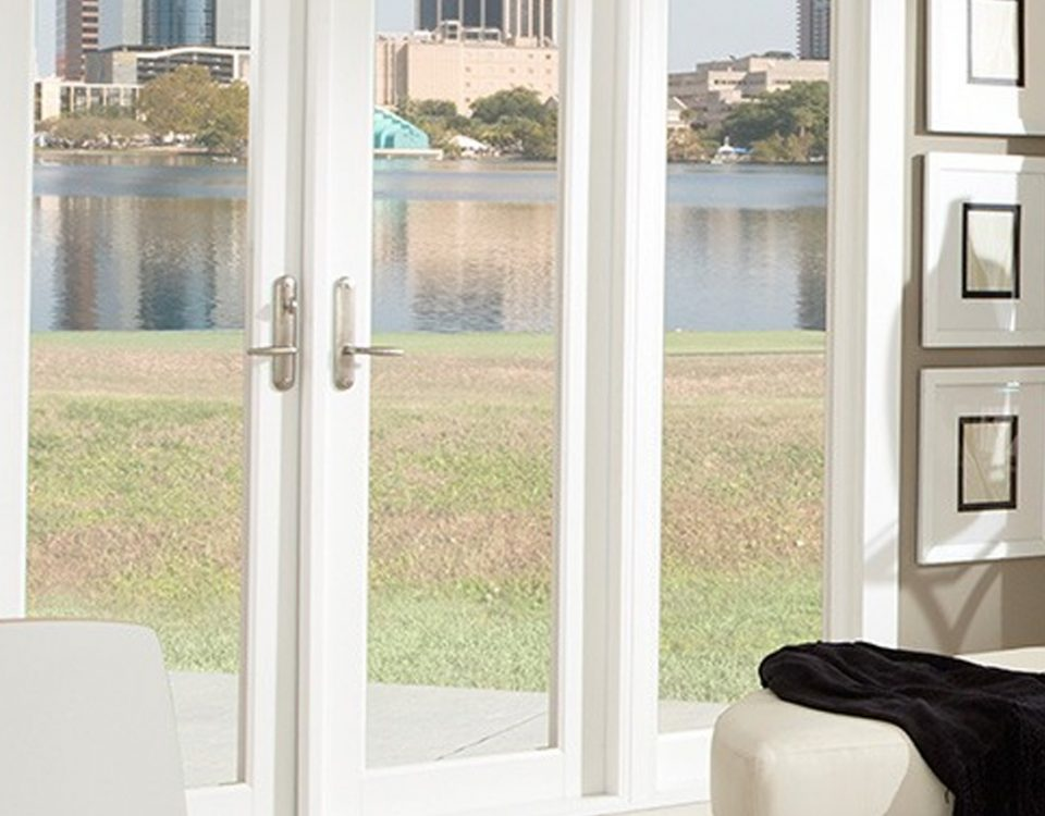Vinyl French Doors - PGT WinGuard French Door - Glass French Doors - PGT Doors