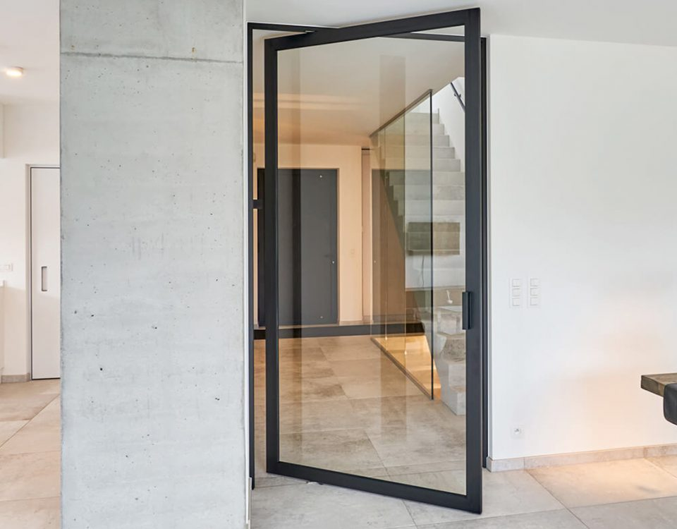 Exterior Glass Pivot Door - Impact Pivot Doors - Pivot Door Manufacturers
